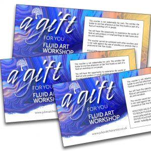 Fluid Art Gift Vouchers