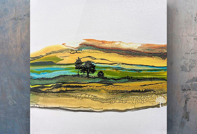 Autumn Landscape by Julie Vatcher