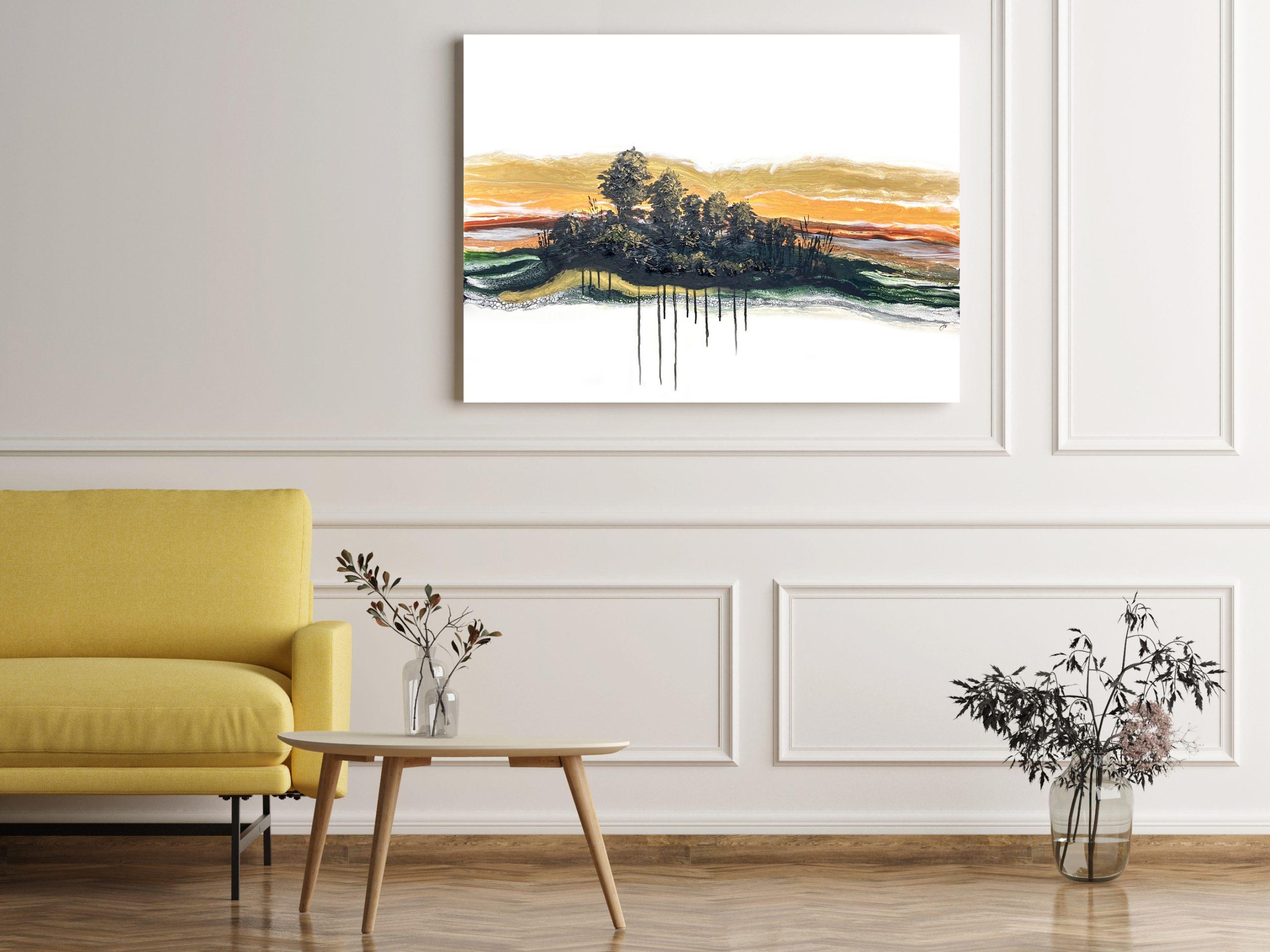 Darkened Wood by Julie Vatcher Artist