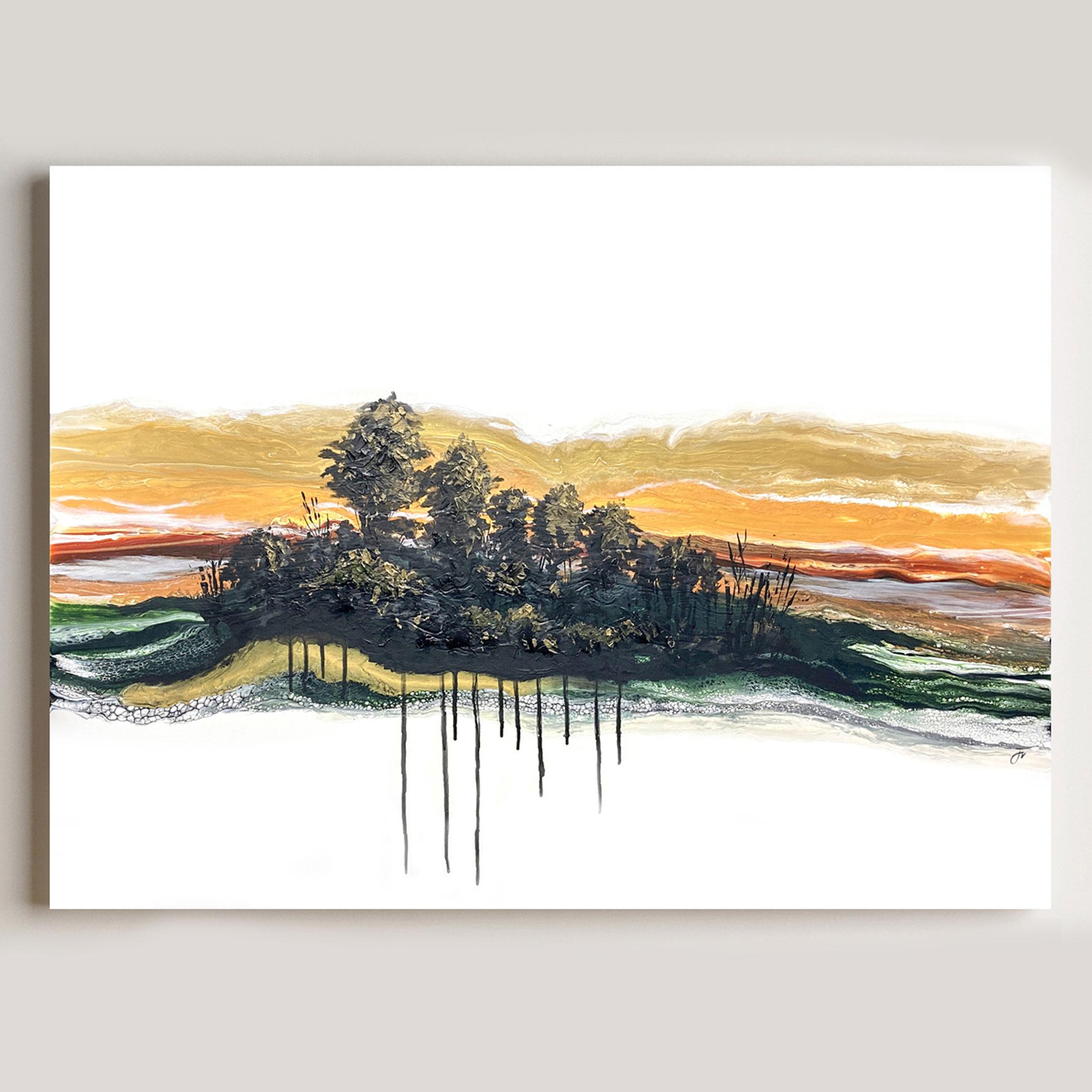 darkened_wood by Julie Vatcher Artist