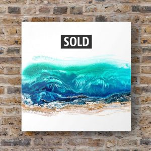Julie Vatcher Fluid Art Seascape