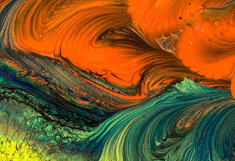 Julie Vatcher Fluid Art Coral Reef 4