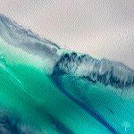 Julie Vatcher Seascape Ocean Swell